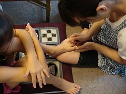 足の爪アート